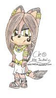 Cleo the Jackal by mlp44