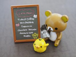 Rilakkuma Chocolate Cafe Re-ment #3 by ImSugarRibbon