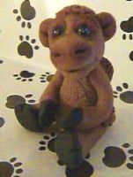 polymer clay camel cory by crazylittlecritters