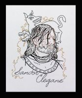 Sandor Clegane Embroidery by padfootb3
