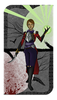 Lady Inquisitor Lavellan by Lazy-Coffee