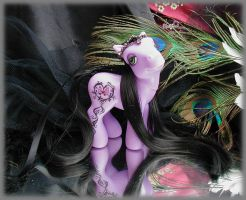 Purple custom my little pony 2 by Barkingmadd
