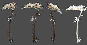 Tribal War Scythe by JohnMcFlurry