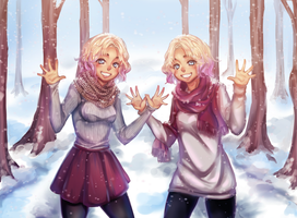 The Fray twins by Wiki234