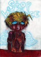 Kenny- Stop the Violence by edenfire57