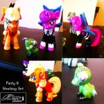 Custom MLP Panty and Stocking with Chuck Set by StrawberrySoulReaper