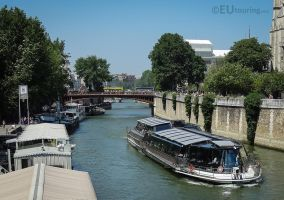 View towards Pont au Double by EUtouring