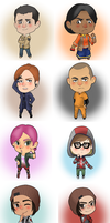 Second Son Chibis by Torchy-Worchy
