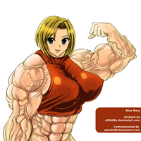 Muscle Blue Mary by S20K00Y by elee0228