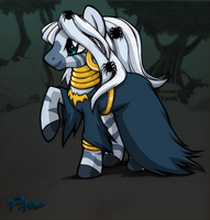 halloween zecora by Pain-hyena