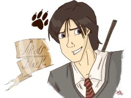 Sirius black by Grandkhan
