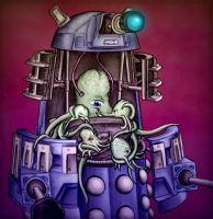 ILD Contest Entry -Dalek Love by Theta-Xi