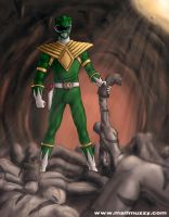 Green Ranger by allthatisfuzzy