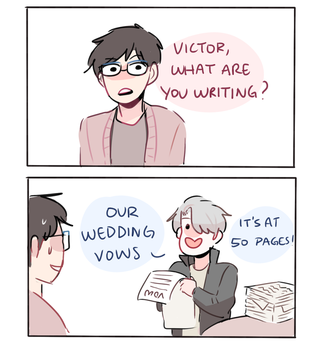 YOI: WEDDING VOWS by Randomsplashes