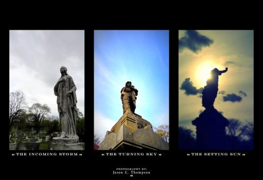 Statuary: The Triptych by KrowFace