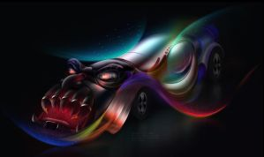Fantasy Car by toonrama