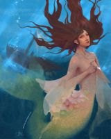 Mermaid by Stolidly