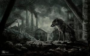 A world where there is no place for the wolves by Azany