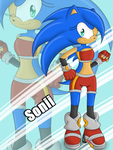 Contest Entry: Sonii the Hedgehog by LinLinMi