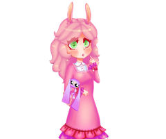 Mimi the Bunny by PastelTheTiger