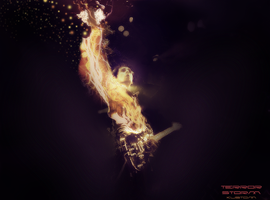 Matthew Bellamy by kustomgrafix