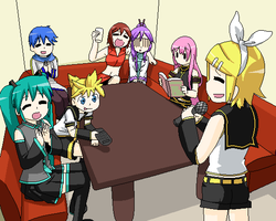 Vocaloid Party Rin's Turn by blackstar-shine