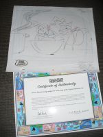 Production Drawing From Courage The Cowardly Dog by Courage09