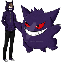 Gengar by Aciidwire