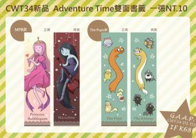 Adventure Time Bookmarks by oversoul4