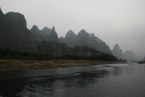Lijiang River by infl3xion