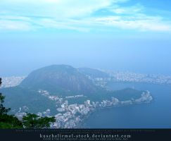 View from Corcovado 01 by kuschelirmel-stock