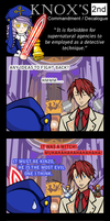 Umineko 4koma - Knox's 2nd by ElderKain