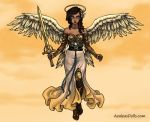 Angel AU: Angel Of The Sands by Adraowen