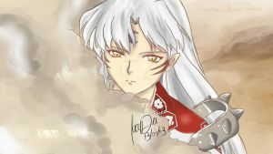 Sesshomaru by LucyDei