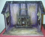 Miniature Witch Roombox by grimdeva