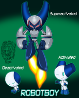 I, Robotboy by TheBig-ChillQueen