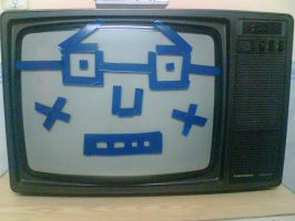 old tv by goofaster