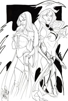 NYCC_ Emma and Jean by Arzeno