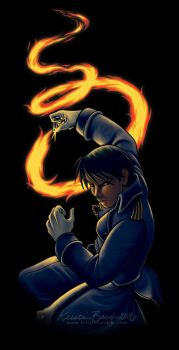 Roy Mustang by KrisCynical