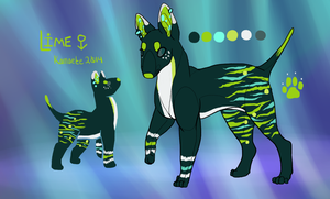 Lime Reference Sheet by Kama-ItaeteXIII