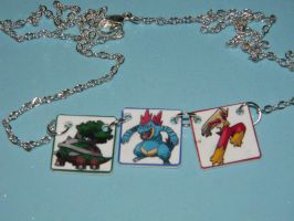Pick Pokemon Necklace PRIZE rave-and-thorns by kouweechi