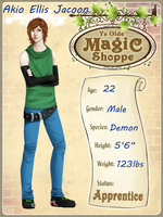 Magic Shoppe: Aki by oOTearlessOo