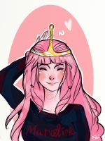 Princess Bubblegum by KristenLaww15