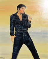 Elvis - Memories Of The King ~Commission~ by NualaHolloway