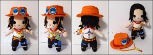 Chibi Ace - One Piece by Serenity-Sama