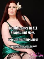 Beauty comes in all shapes and sizes! by ClassyDamePinup