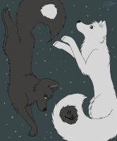 Yin and Yang Again by Spazzel