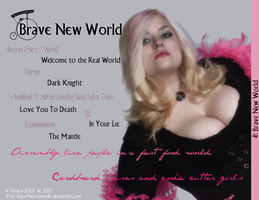 Brave New World - Back Cover by honeyhalliwell