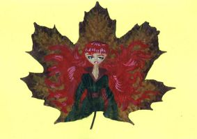 Leaf - Autumn by Anhinga