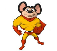 mighty mouse by KlyrREIN